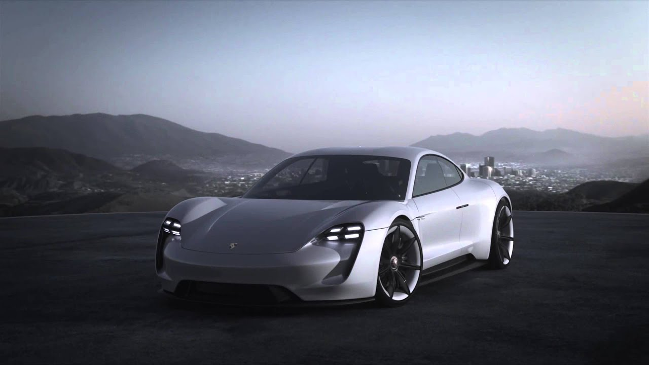Porsche Mission E Concept Official Video - YouTube