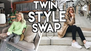 I Swapped Wardrobes With My Twin Sister