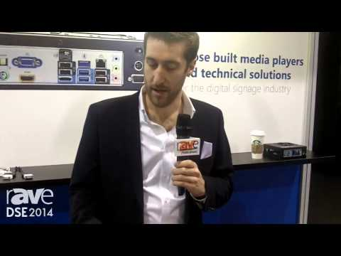 DSE 2014: MediaVue Features The sureVue D1 15 Watt Player