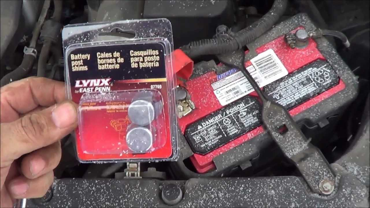 battery terminal terminal will not tighten up  try a battery post shim youtube car fuse box connection Automotive Fuse Box Connectors