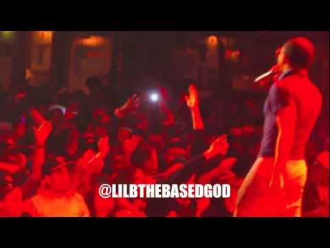 """LIL B DOES """"SUCK MY DICK HO"""" LIVE CROWD KNOW EVERY WORD! THEY SING FOR HIM!"""