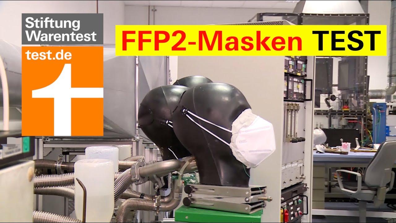 Test FFP2-Masken: Die beste Atemschutzmaske ist diese (Maskentest Testsieger Stiftung Warentest)