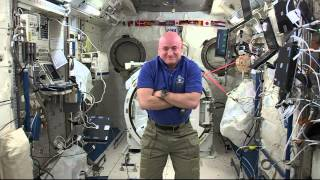 One Year International Space Station Crew Member Discusses Life In Space With The Media