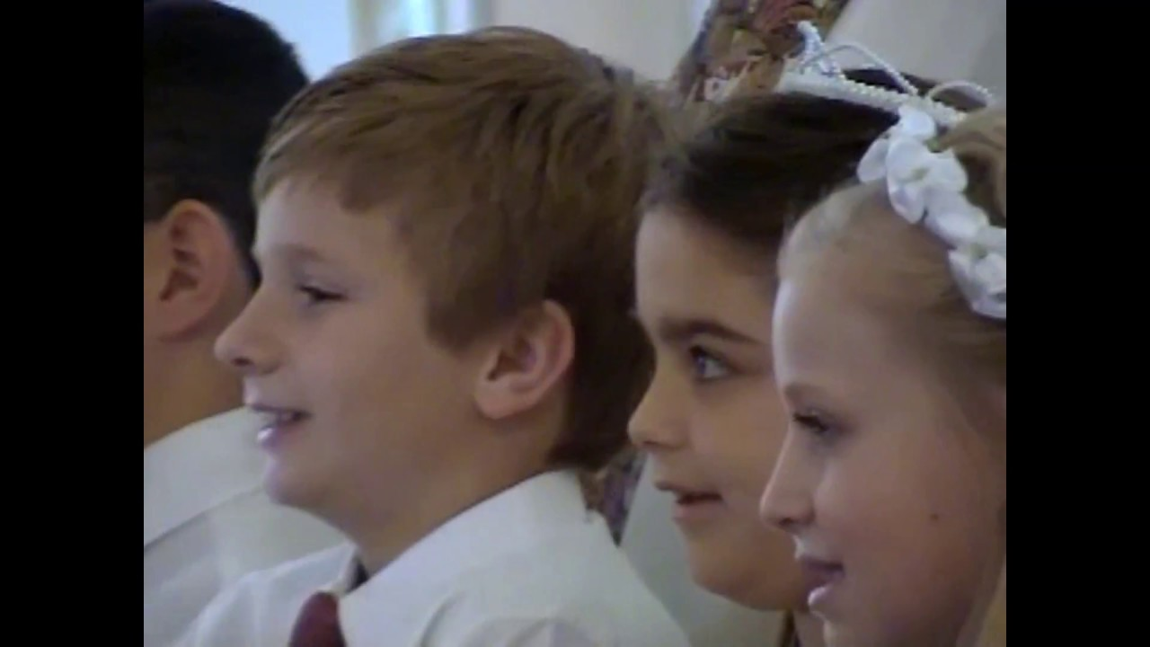 St. Mary's First Communion  5-20-07