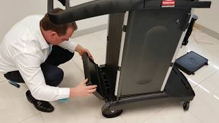 How to assemble Rubbermaid Housekeeping Cart