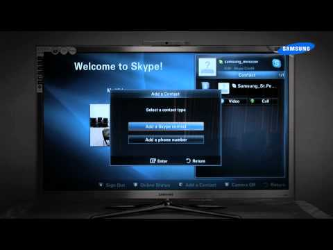 Skype в телевизорах Samsung