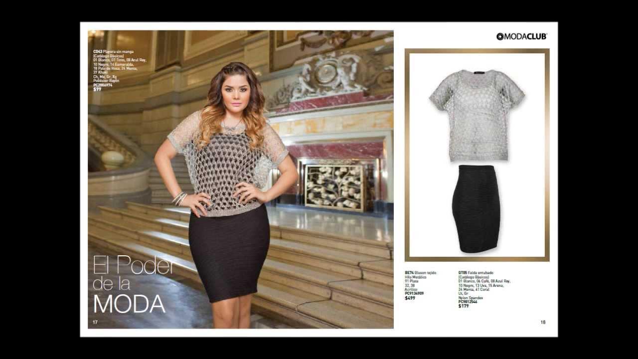 44884aac21 Catalogo ModaClub Ropa de Moda Para Dama - Otoño Invierno 2013 - Tallas  Especiales - Yuridia. - YouTube