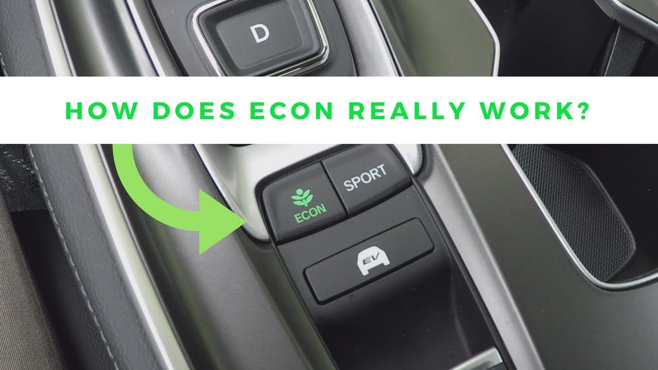 How To Use The Econ On In Your Honda