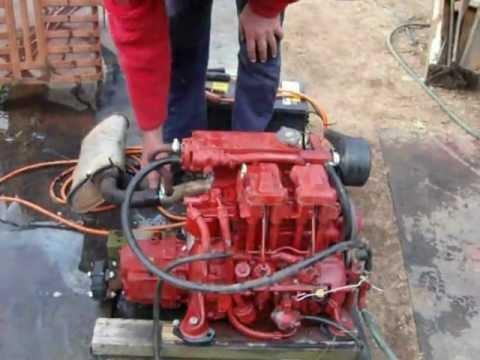Marine Diesel Engine 15 Horse Power 'Ruggerini M150'