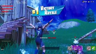 Fortnite: 1 HP Squad Win