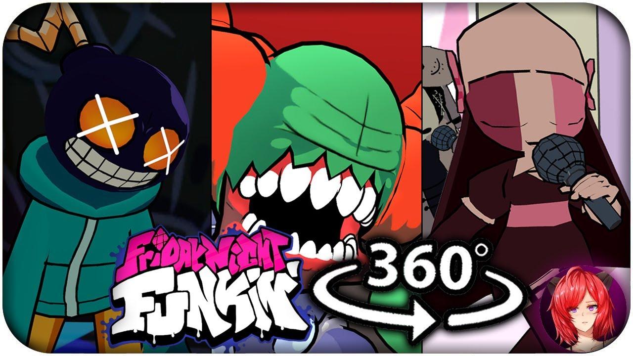 Whitty, Tricky, Sarvente & Ruv 360º: Friday Night Funkin' 360 VR