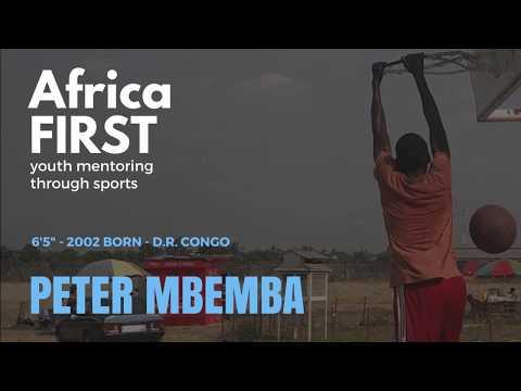 Peter Mbemba of AfricaFIRST, from Kinshasa (DRC)