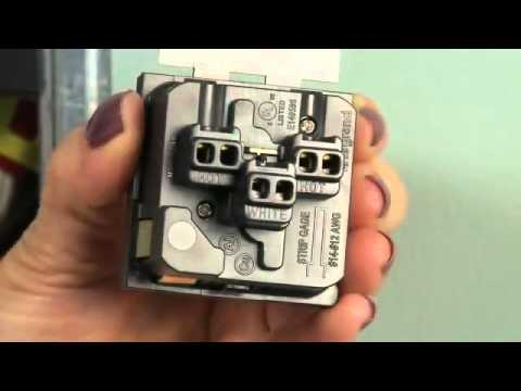 How To Install An Adorne Outlet   Legrand Adorne at Lumens - YouTube