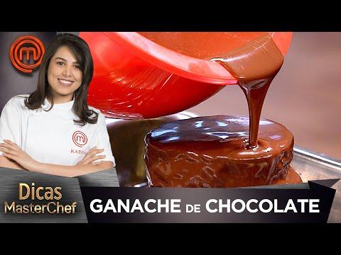 GANACHE DE CHOCOLATE EM TRÊS PONTOS comRaissa Ribeiro | DICAS MASTERCHEF