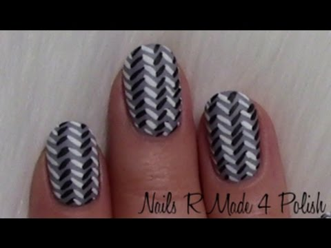 Gestrickte Nagel Nageldesign Knitted Nails Material Nail Art