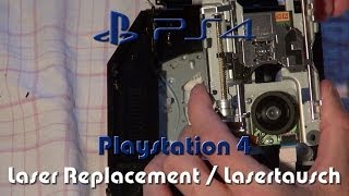 vuclip Playstation 4 (PS4) - Laser Replacement [English Subtitles] / Laser-Tausch - Full HD