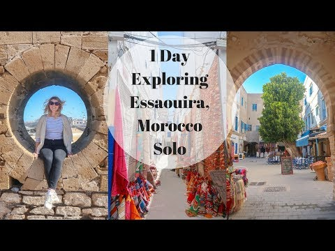 One Day Exploring Essaouira, Morocco Solo! & My True Thoughts of Essaouira!