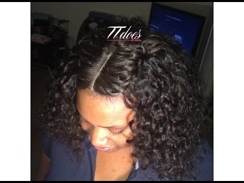 Braid Pattern for a Lace Closure Full Sew in - YouTube