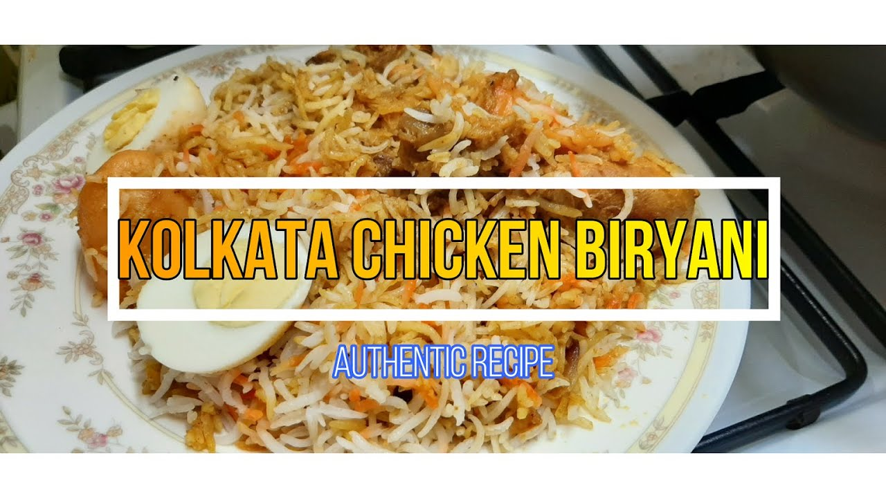 KOLKATA Chicken BIRYANI Recipe|| AUTHENTIC|| Flavours On My Dastarkhwan