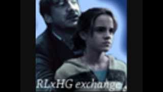 david thewlis as remus lupin and emma watson as hermione granger