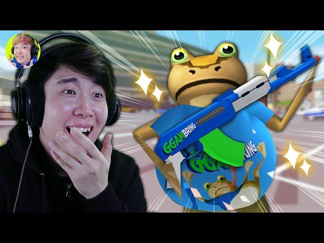 겜브링 코스튬이 생겼습니다ㄷㄷ 레알실화임 어그로아님 - 어메이징 프로그(Amazing Frog) - 겜브링(GGAMBRING)