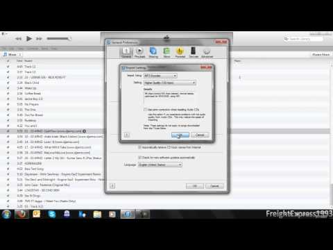 How To Convert Audio Files To MP3 Format in iTunes