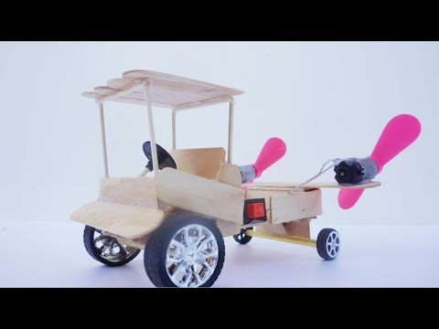 How To Make Powered Car Use Dc Motor Can Run Toy