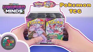 Mở 18 pack đầu tiên Pokemon TCG Unified Minds và kết quả ToyStation 431