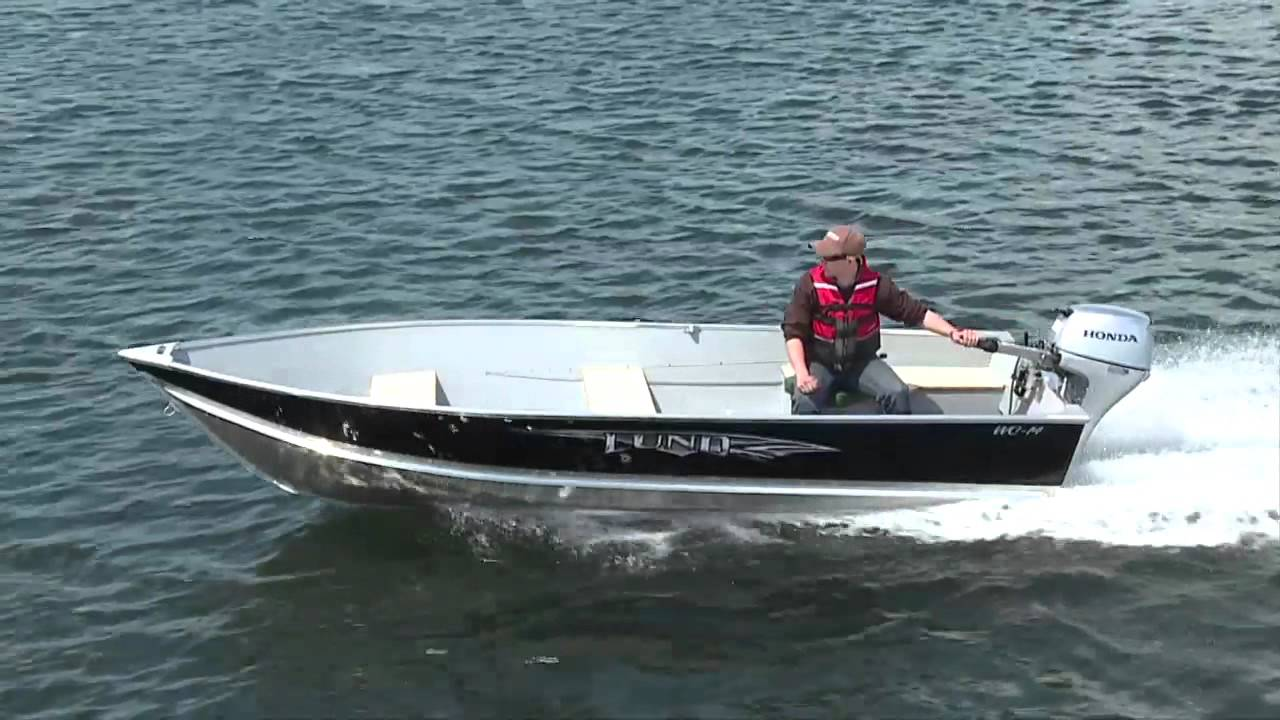 Small Aluminum Fishing Boats - Lund WC-14