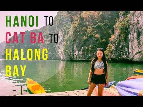 Hanoi to Cat Ba To Halong Bay Tour | Budget Travel In Vietnam