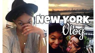 New York Vlog | Fashion Design Internship , Hotel Party, New Friends