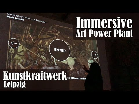 The Art Power Plant : Exploring Immersive Art at Kunstkraftwerk in Leipzig's Plagwitz