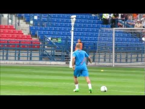 Holland training at Wisla Cracow stadium Euro 2012 part 2
