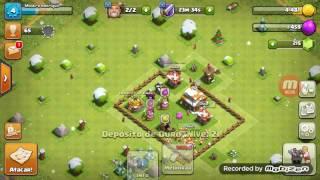 Batalha com sucesso no clash of clans
