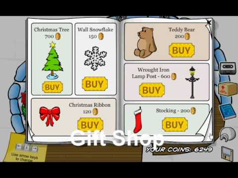 Club Penguin Christmas 2008 Secrets (New)