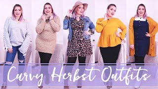 Curvy Herbst Outfits & H/W Trends 2018   Missesviolet 💜