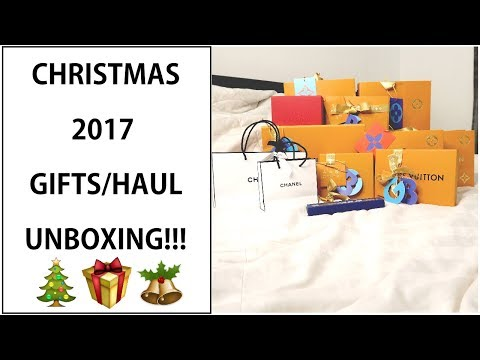 WHAT I GOT FOR CHRISTMAS 2017!!! | LUXURY UNBOXING