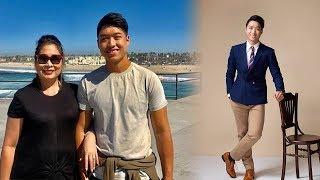Lộ ảnh quý tử thứ 2 của nghệ sĩ Hồng Vân: Chiều cao chuẩn soái ca, học cực giỏi tại Mỹ