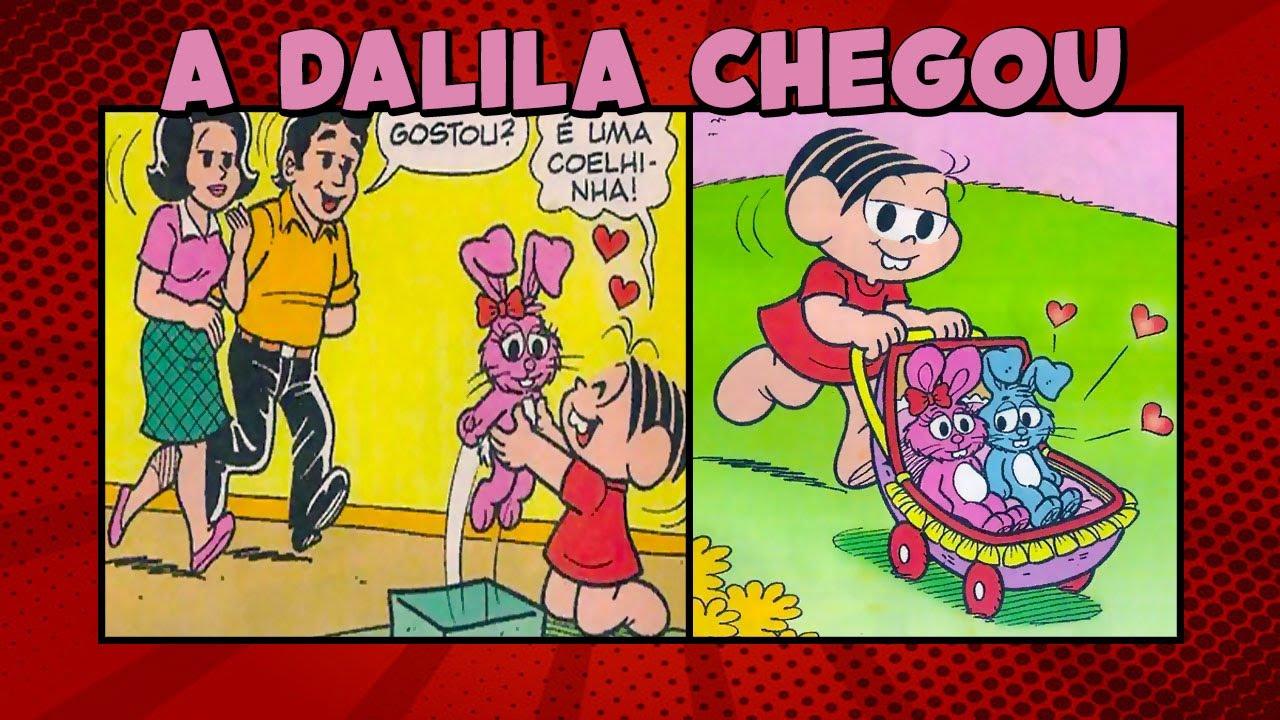 Quando a Mônica ganhou a Dalila | Mônica em A DALILA CHEGOU | Quadrinhos da Mônica