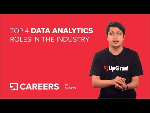 Top 4 Data Analytics Roles
