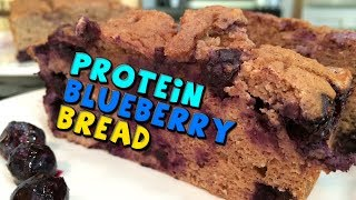 Protein Blueberry Bread Recipe (high Fiber)