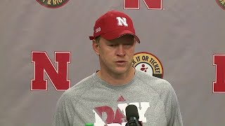 Scott Frost is happy with Monday's practice, said they are putting in the work