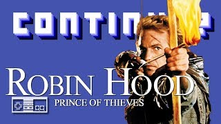 Robin Hood Prince Of Thieves (Nintendo NES) - Continue?