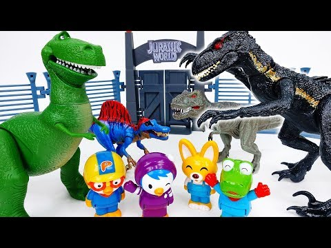 Kung Fu Race Of The Dinosaurs~! Run Dino Run - ToyMart TV