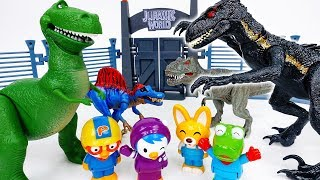 Kung Fu Race Of The Dinosaurs~! Run Dino Run - ToyMart TV