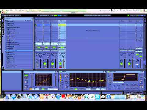 Ableton + FM8  + Mastering/Comp Tutorial = FAT Electro Bass