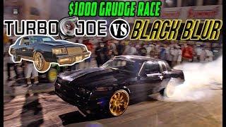 Donkmaster & The Black Blur Take on Turbo Joe