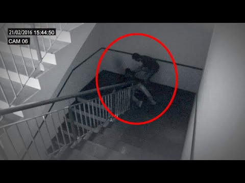 Terrific Ghost Attack Video Ghost Attack Video Caught On Cctv