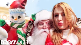 bella thorne pulls pranks at the grove in los angeles teen vogue