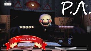 """""""Реакции Летсплейщиков"""" на Первую Смерть от Клоуна/Марионетки из Five Nights At Freddy"""
